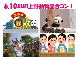 【レポート】6.10 雨でも元気に開催!上野動物園コンパーティー