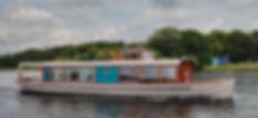 Das Salonschiff MS Marple auf dem Wannsee bei Potsdam - das richtige Schiff für eure Feier!