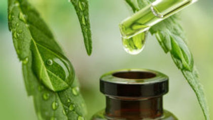 CBD Hemp Oil Massage