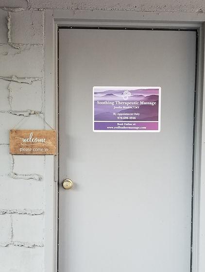 Massage Entrance