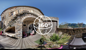 Visite Virtuelle Millau-Mostuéjouls : Le Soleilo Chambres d'Hôtes