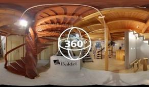 Visite Virtuelle Durenque : Menuiserie Escaliers BALDET