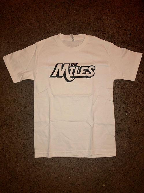 The Miles OG Logo White T