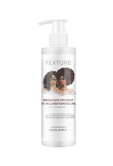 Weightless Coconut Leave In Conditioning Cream