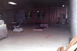 Mainfloor insulation installation.