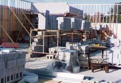 Mainfloor construction.