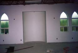 Finishing main prayer hall.