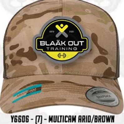 Multicam Arid/Brown mesh trucker cap