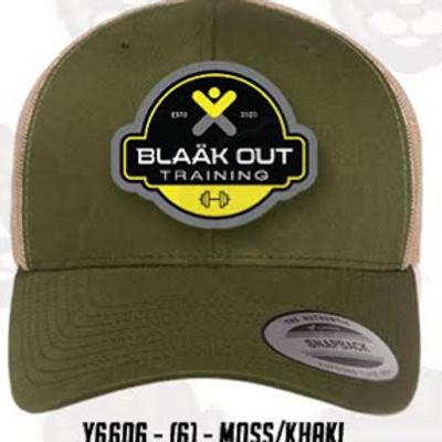 Moss/Khaki mesh tricker cap