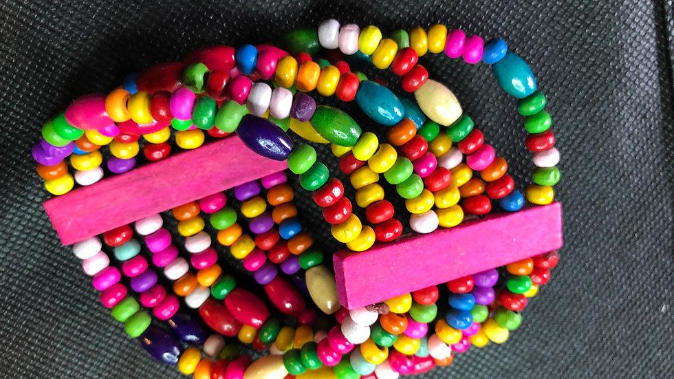 Multicolored bangle