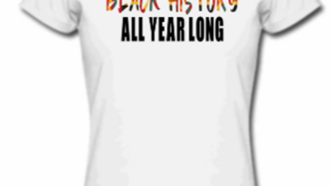 Black History all year long tee