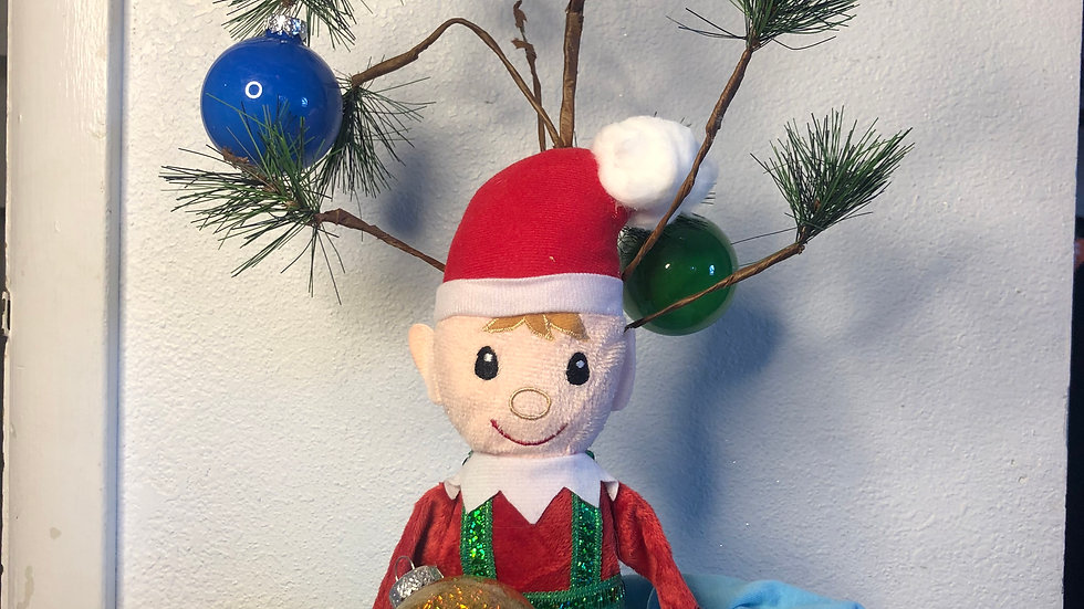 Elf on the shelf made with love!