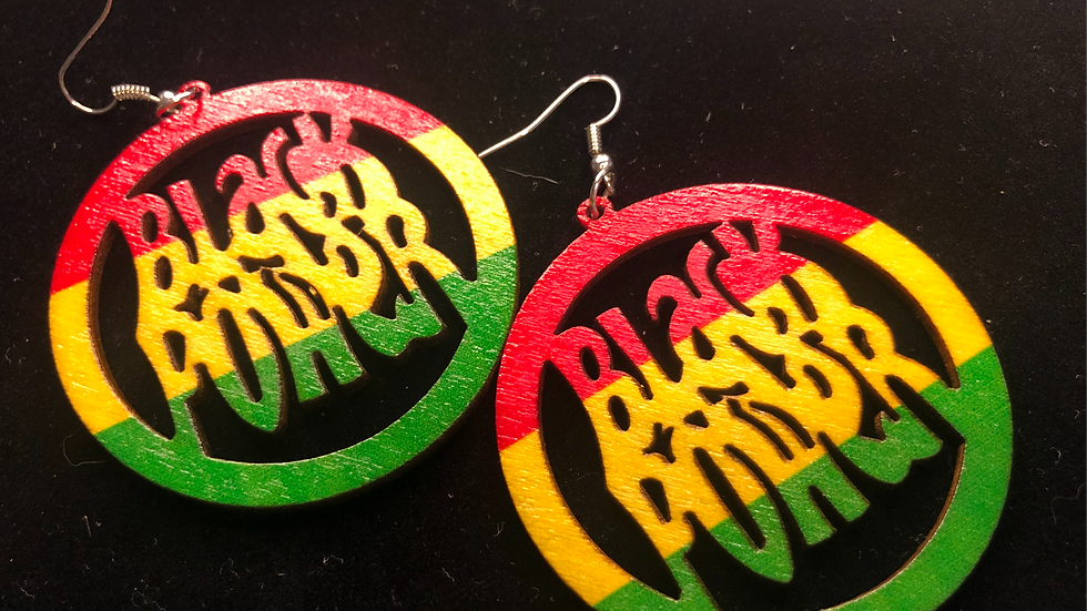 Panther inspired earrings