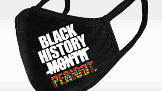 Black History Period - face mask