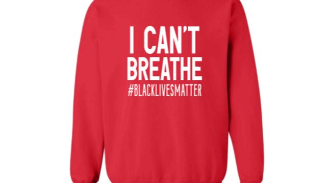 I Can't Breath Crewneck sweater