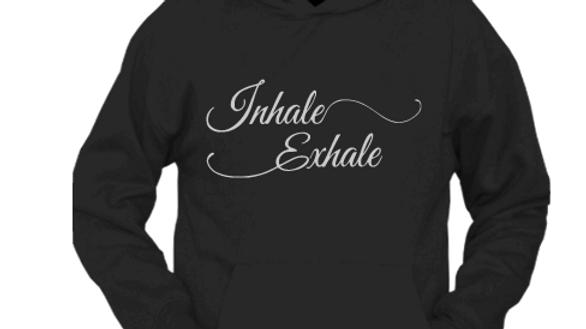 Inhale Exhale-Hoodie