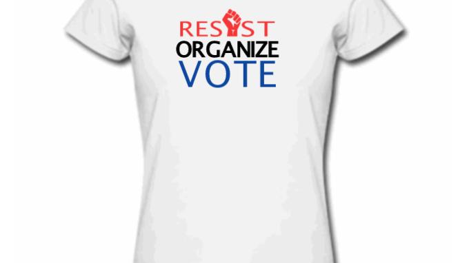 Resist Organize Vote-RWB