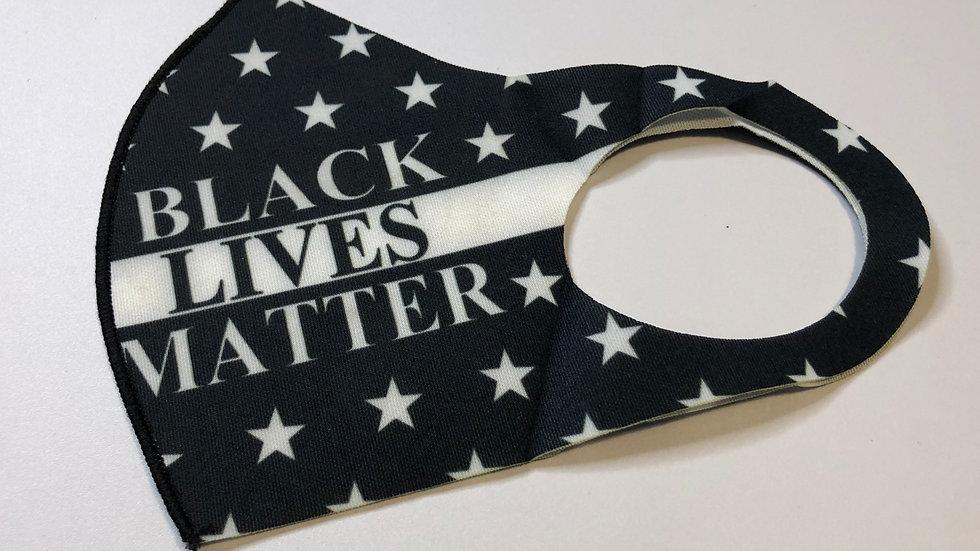 Black Black Lives Matter face mask