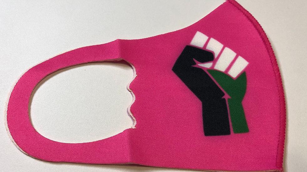 Kids Bright Pink Mask