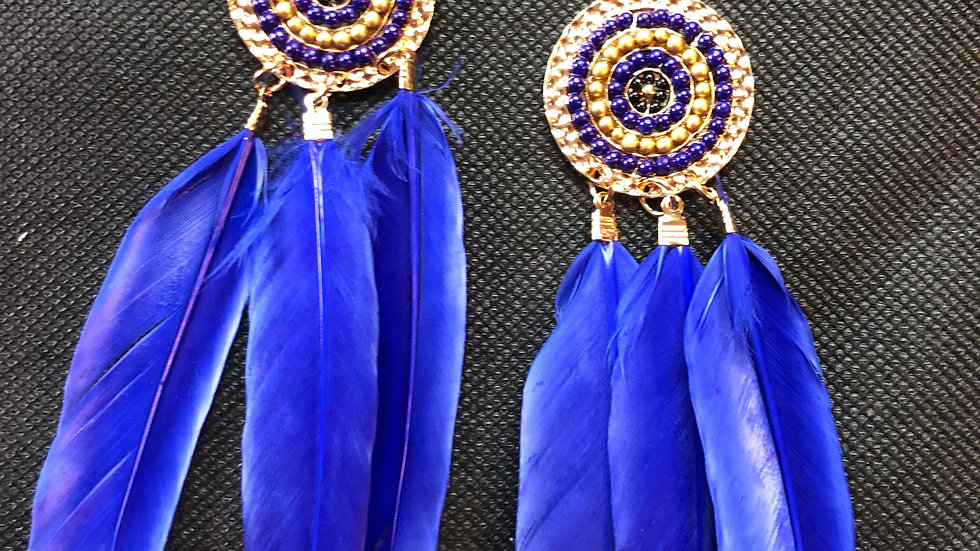 Dreamcatcher inspired earrings
