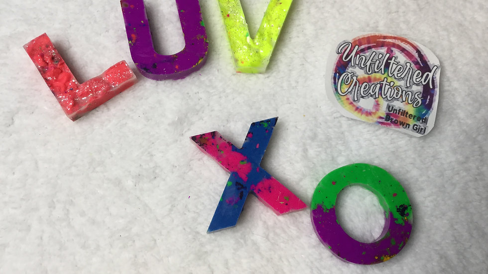 Custom Love Crayons