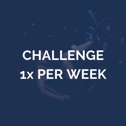 12-weken challenge | 1 keer per week