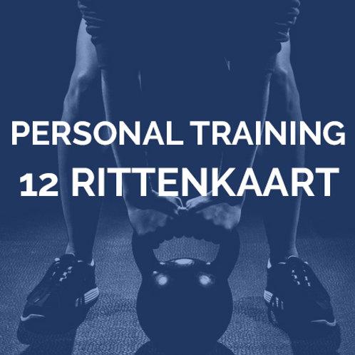 Personal training | 12 rittenkaart