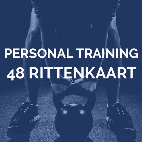 Personal training | 48 rittenkaart