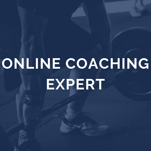 Online coaching expert