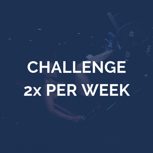 12 weken challenge | 2 keer per week