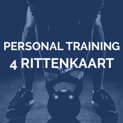 Personal training | 4 rittenkaart