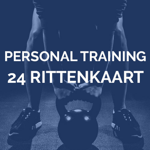 Personal training | 24 rittenkaart