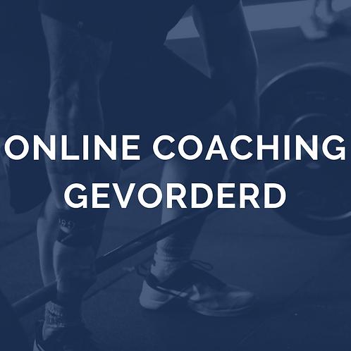 Online coaching gevorderd