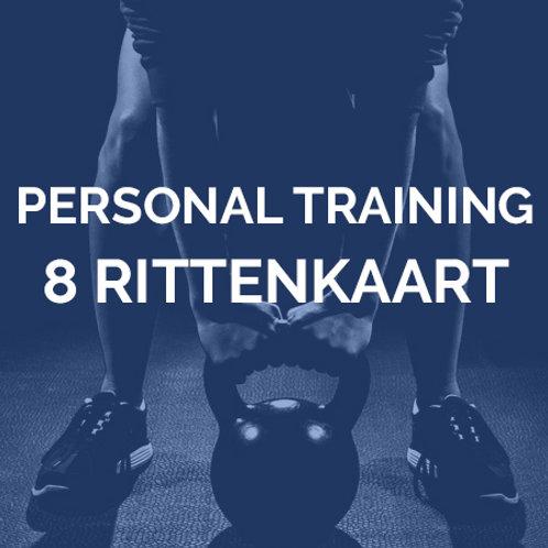 Personal training | 8 rittenkaart