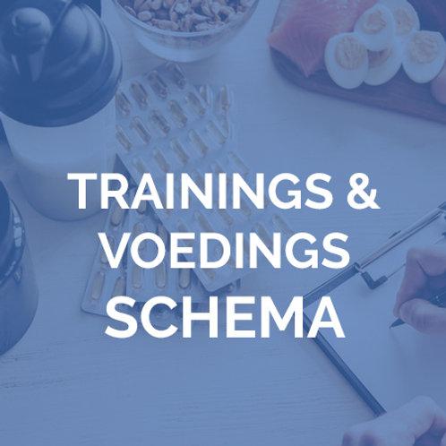 Trainings-envoedingsschema