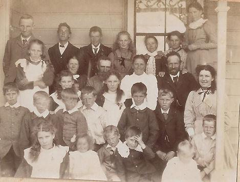 Finlayson Families. Rachel at back right.jpg