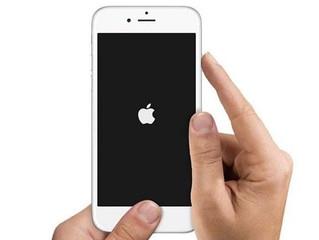 Pantalla iphone 6 en blanco