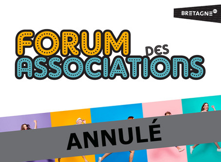 Forum des associations Annulé