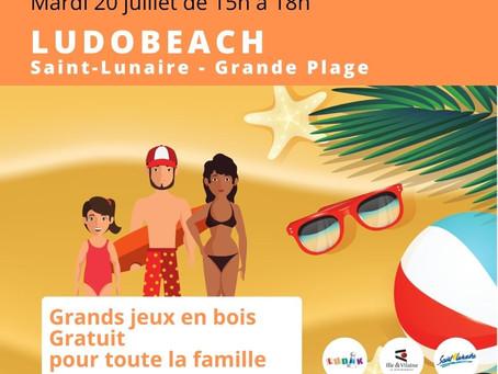 Ludik à Saint Lunaire sur l'été 2021
