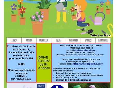 Mai 2020 : Ludik en Drive