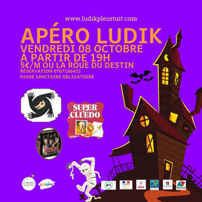 Vendredi 8 octobre 2021: APERO LUDIK