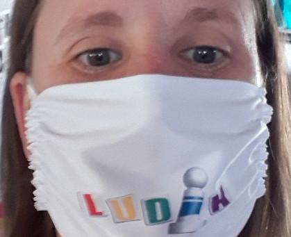 Des Masques Ludik pour soutenir l'association