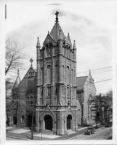 Second church, Lexington and 2nd streets - one of the best churches in Louisville KY