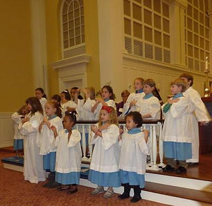 The Junior Choir participates on Youth Sunday - the 2nd Sunday of the month. Thank You Emily Smith