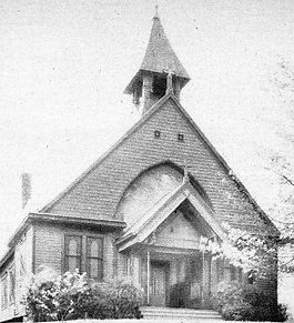 The merger church building - part of our Episcopal churces in Louisville KY