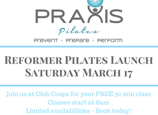 Pilates Launch Day! Northside Clinic