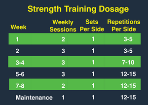 Adductor Tendinopathy strength guide for Rehab
