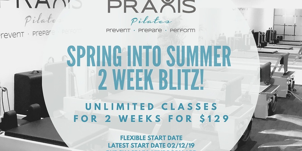 Summer Two Week Blitz