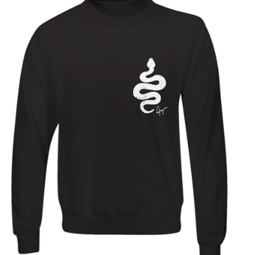 Aaja standard Black Jumper (double sided print)