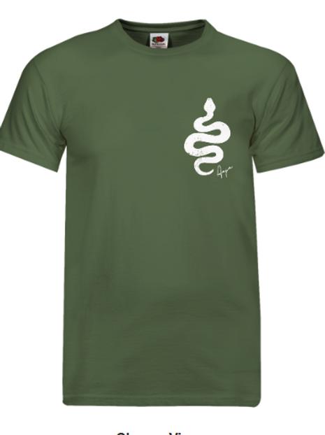 Aaja standard Olive short sleeve T-Shirt